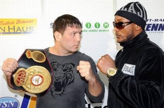 Бокс видео: онлайн бои Руслана Чагаева, часть 1