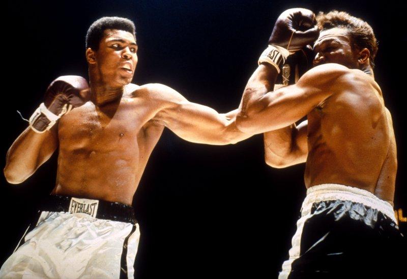 Бокс видео: онлайн бои Мухаммеду Али, часть 1