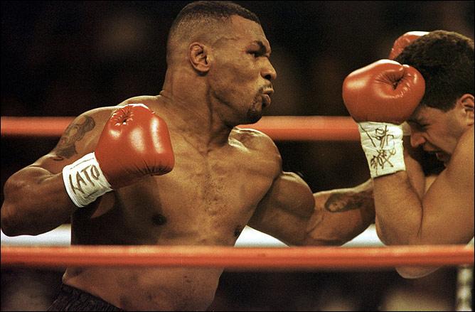Бокс видео: онлайн бои Майка Тайсона, часть 4