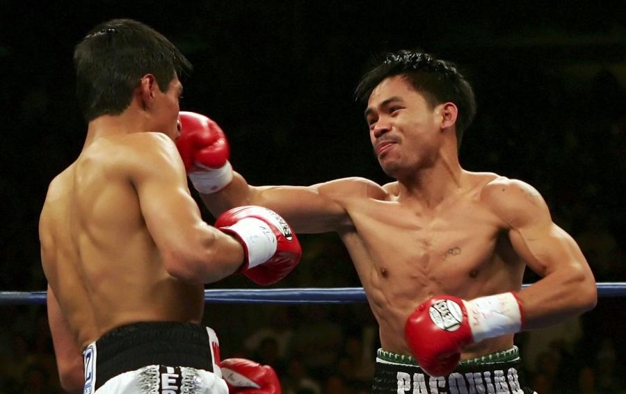 Бокс видео: онлайн бои Мэнни Паккьяо, часть 1