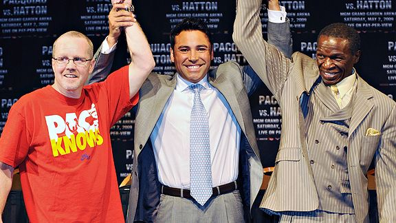 Бокс видео: онлайн бои Оскара Де Ла Хойи, часть 2