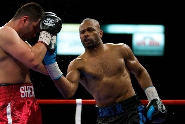 Бокс видео: онлайн бои Роя Джонса, часть 4
