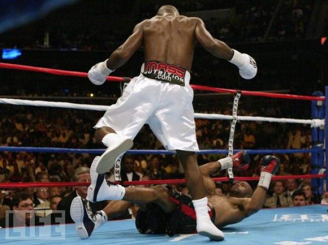 Бокс видео: онлайн бои Роя Джонса, часть 2