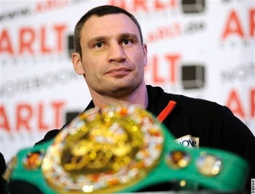 Бокс видео: онлайн бои Виталия Кличко, часть 2