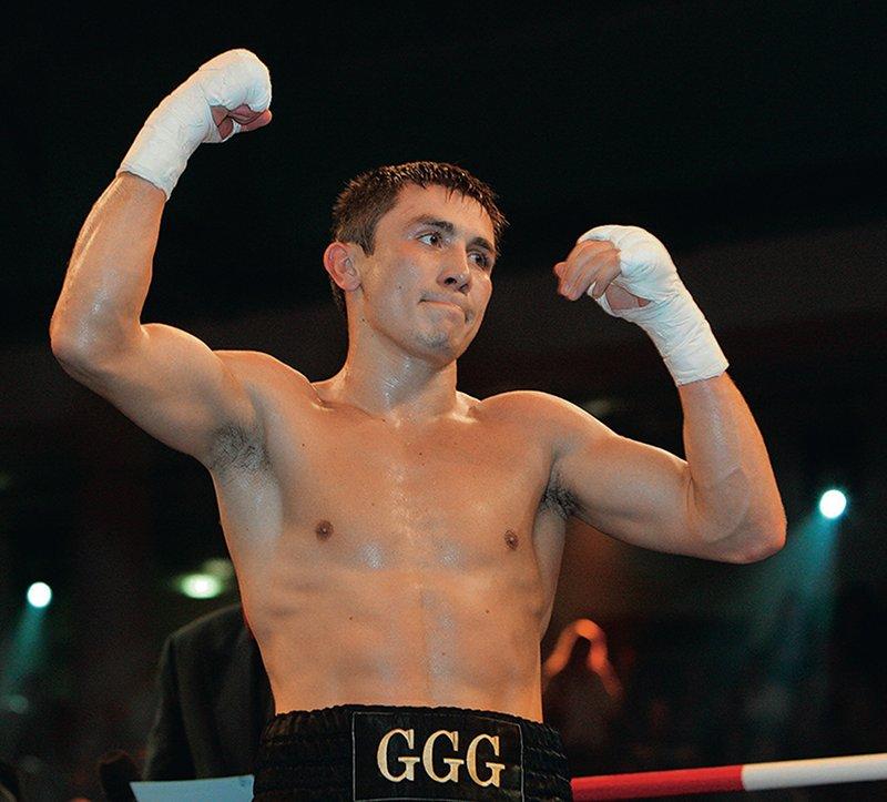 Бокс видео: онлайн бои Геннадий Головкин, часть 1