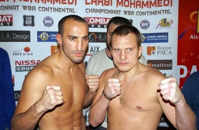 Бокс видео: онлайн бой Наджиб Мохаммеди & Александр Червяк