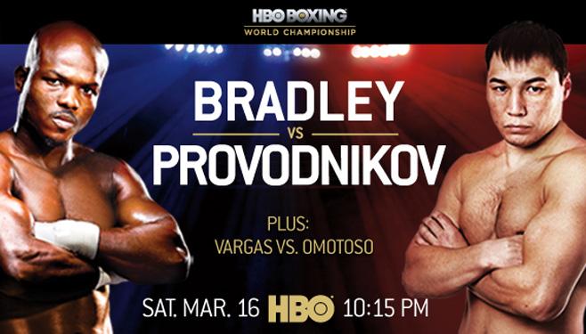 Бокс видео: онлайн бой Тимоти Брэдли против Руслана Проводников