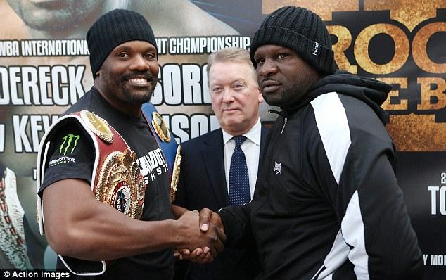 Бокс видео: онлайн бой Дерека Чисоры против Кевина Джонсона