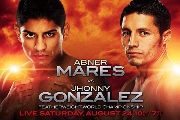 Бокс видео: онлайн бой Джонни Гонсалес против Авенира Марса